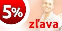 5% zľava pre verných zákazníkov